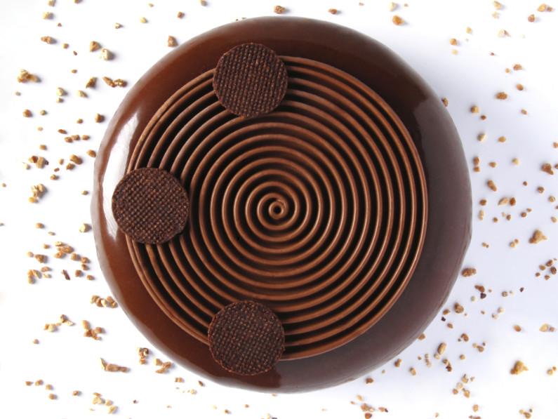 Entremet Chocolat Caramel