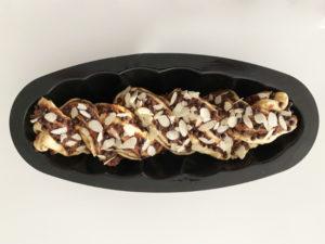 Montage Babka chocolat noisettes 4
