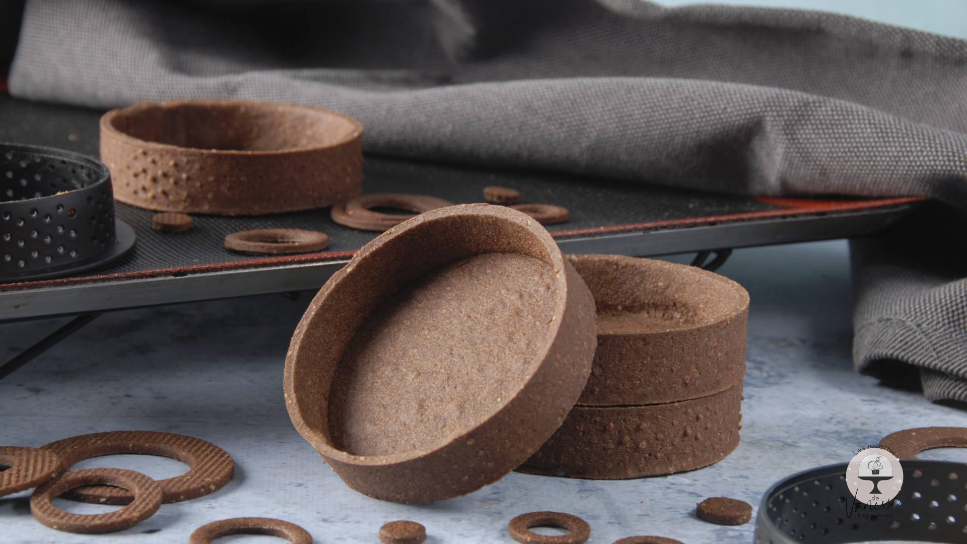 Pâte-sablée-chocolat