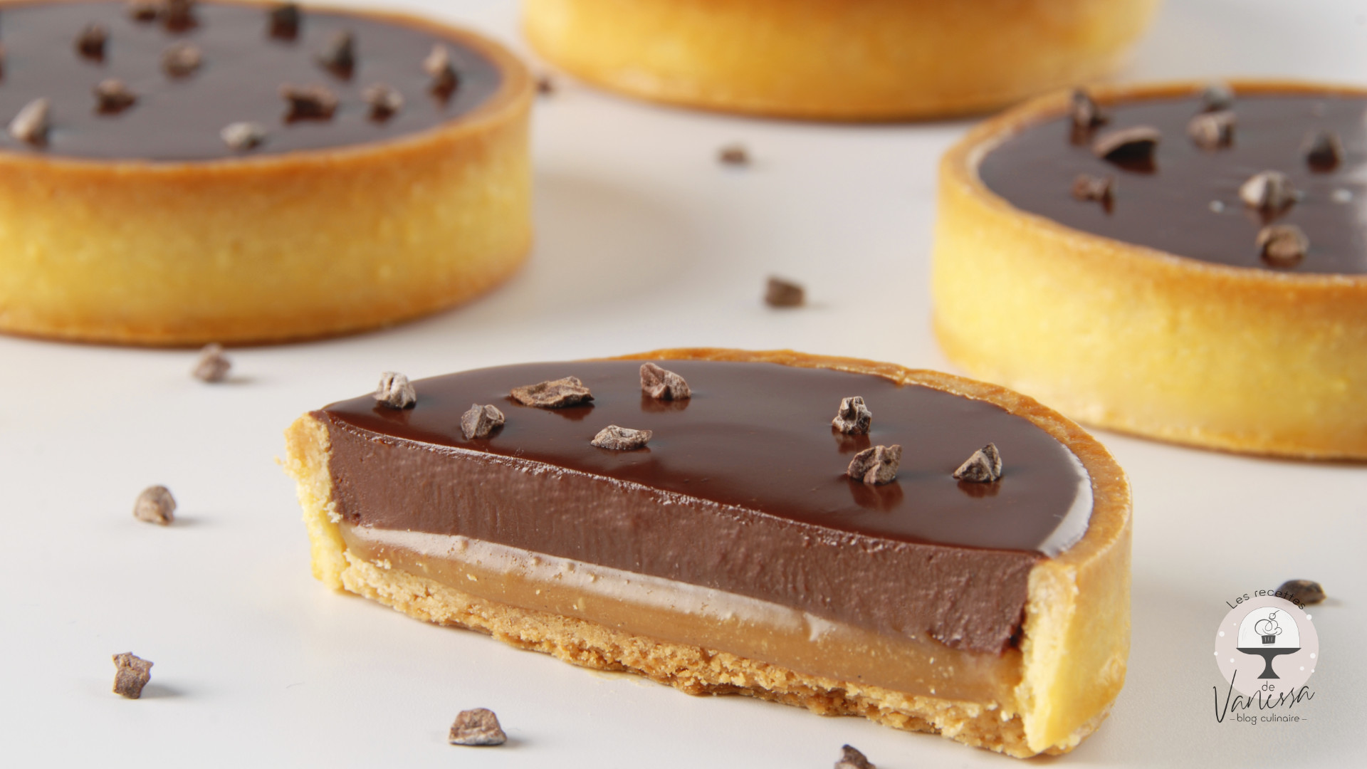 Recette-Tarte-chocolat-caramel