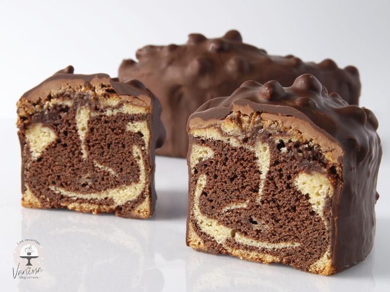 Cake Marbré Gianduja Noisettes