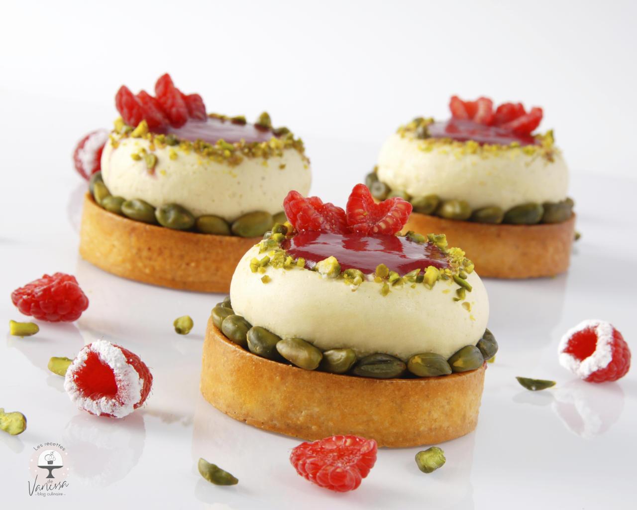 Tarte-pistache-framboise